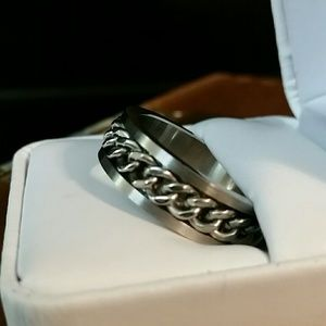 Other - Great Ring! New Solid Stainless Steel Band